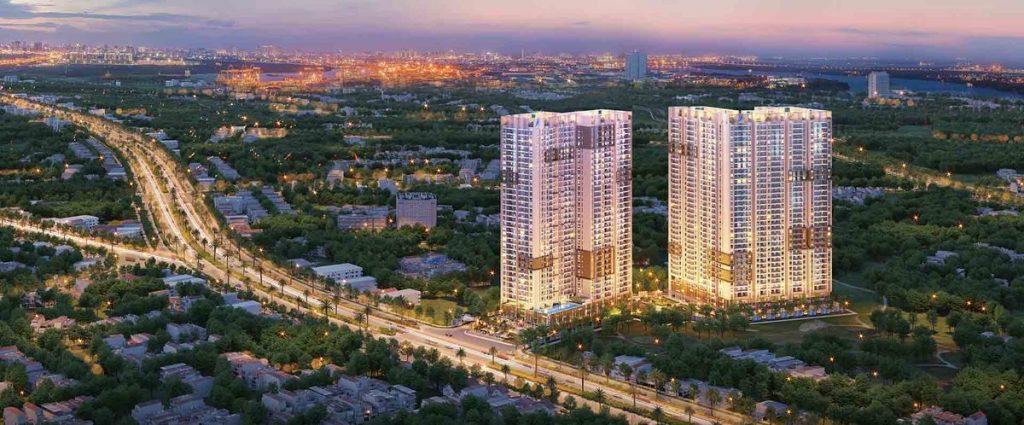 Thiết kế của căn hộ Opal Skyline