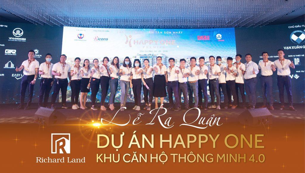 Bùng nỗ sự kiện lễ ra quân của dự án Happy One Premier