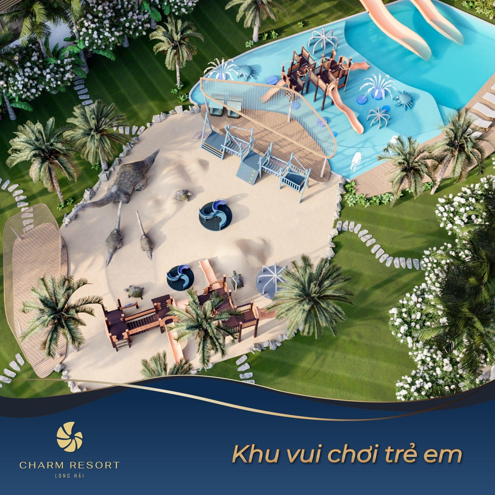 khu-vui-choi-tre-em-charm-resort-long-hai