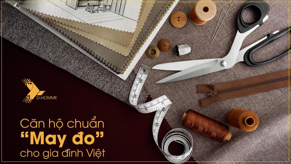 Thiết kế căn hộ D-Homme theo chuẩn may đo cho người Việt