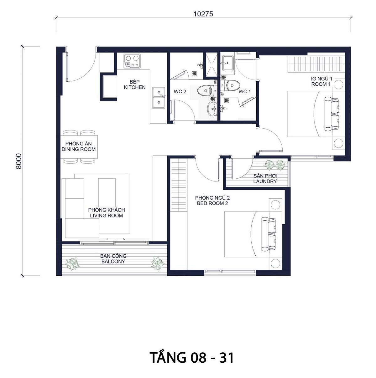 thiet-ke-tang-8-31-2pn-du-an-millennium