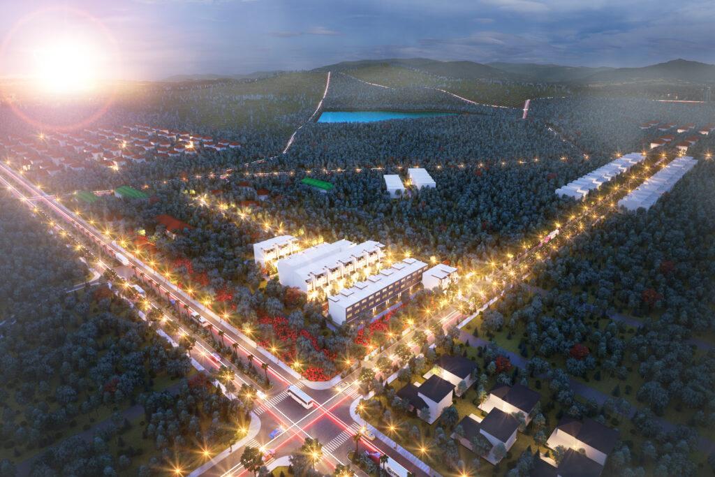 360 độ KDC Richard Lộc Phát – Hải Hà Land Phát Triển