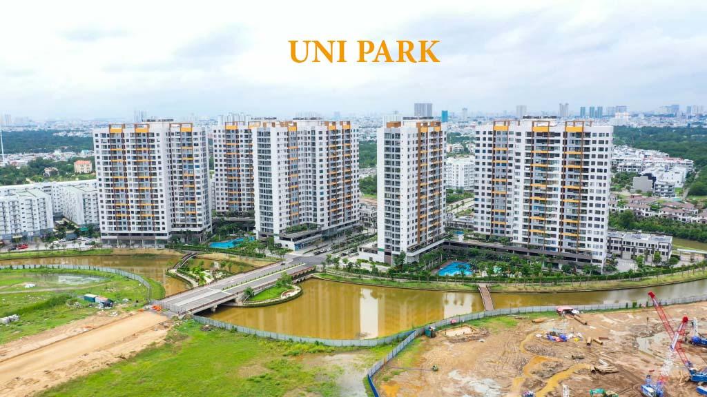 Vị trí dự án Uni Park di chuyển có thuận tiện không?